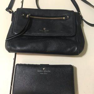 Vintage Kate Spade crossbody & wallet set